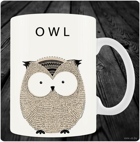 "Кружка ""Owl"" (art.7)"