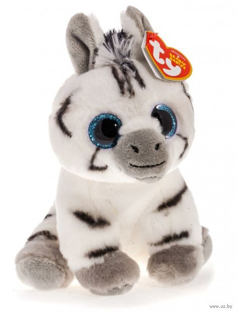 "Мягкая игрушка ""Зебра Stripes"" (15 см) — фото, картинка"