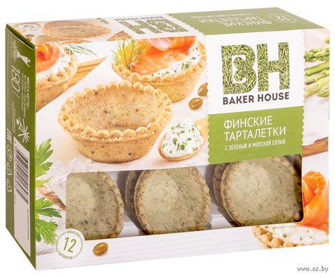 """Тарталетки """"Baker House. С зеленью и морской солью"""" (180 г) — фото, картинка"""