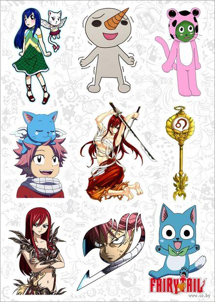 """Набор наклеек №149 """"Fairy Tail"""" — фото, картинка"""