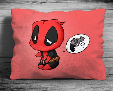 "Подушка ""Deadpool"" (art. 3)"