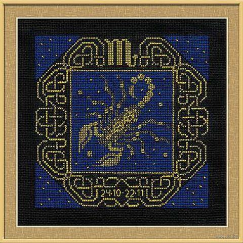 """Вышивка крестом """"Скорпион"""" (250х250 мм) — фото, картинка"""