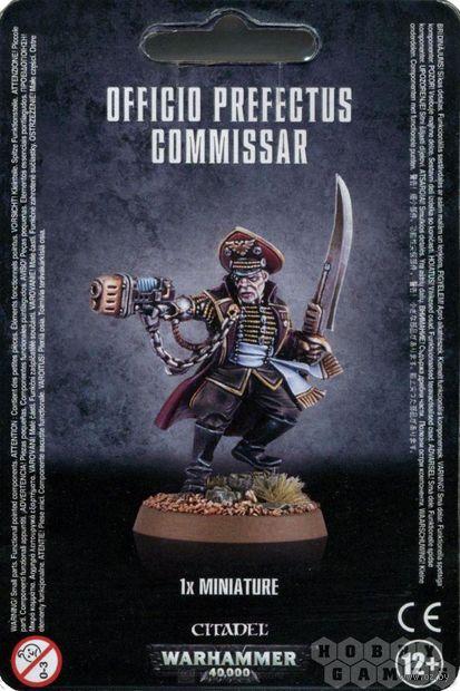 Warhammer 40.000. Astra Militarum. Officio Prefectus Commissar (47-20) — фото, картинка