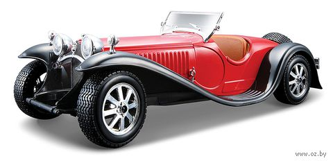 "Модель машины ""Bburago. Bugatti Type 55"" (масштаб: 1/24) — фото, картинка"