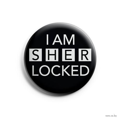 "Значок маленький ""Шерлок"" (арт. 901) — фото, картинка"