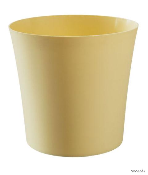 """Цветочный горшок """"Фиолек"""" (11 см; желтая пастель) — фото, картинка"""