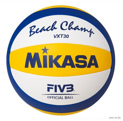 Мяч волейбольный Mikasa VXT 30 Beach Official — фото, картинка