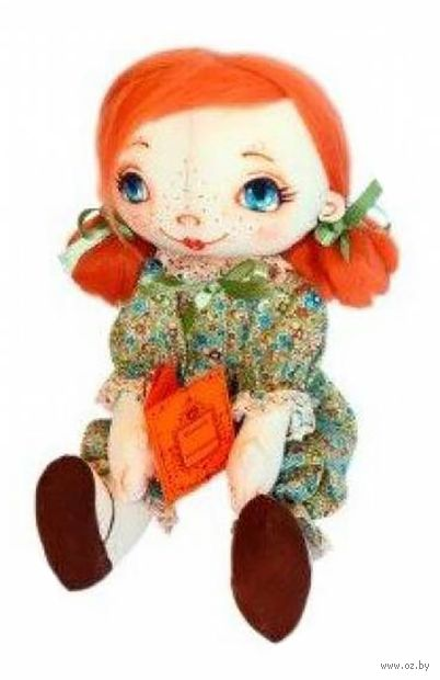 """Набор для шитья из ткани """"Кукла. Малышка с книжкой"""""""