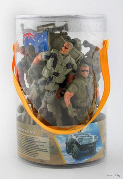Набор солдатиков (6 шт.; с аксессуарами)