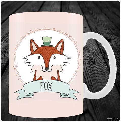 "Кружка ""Fox"" (арт. 13) — фото, картинка"