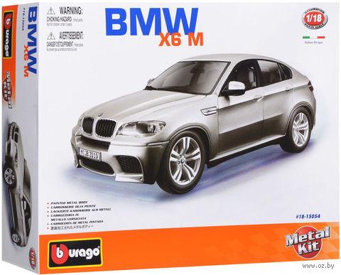 """Модель машины """"Bburago. BMW X6M"""" (масштаб: 1/18)"""