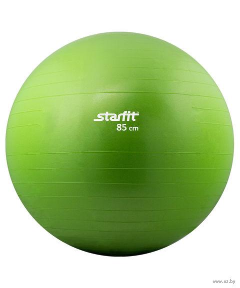 Мяч гимнастический GB-101 85 см (зелёный) — фото, картинка