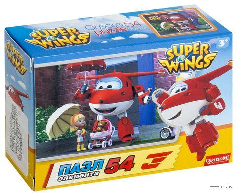 "Пазл mini ""SuperWings"" (54 элемента; арт. OR02995) — фото, картинка"