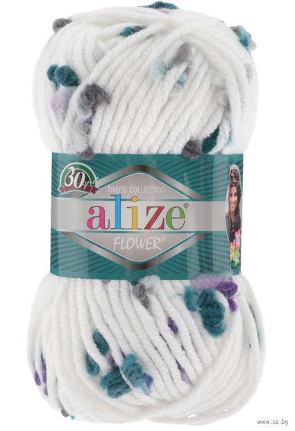 ALIZE. Flower №5072 (100 г; 80 м) — фото, картинка