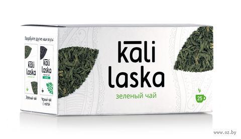 """Чай зеленый """"Kali Laska"""" (25 пакетиков; саше) — фото, картинка"""