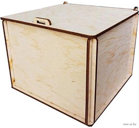 "Заготовка деревянная ""Коробочка большая"" (170х165х140 мм) — фото, картинка"