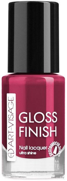 """Лак для ногтей """"Gloss Finish"""" тон: 120, лесные ягоды — фото, картинка"""