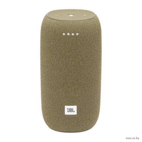 Колонка беспроводная JBL Link Portable Yandex (желтая) — фото, картинка
