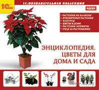 1C:Познавательная коллекция. Цветы для дома и сада. Энциклопедия