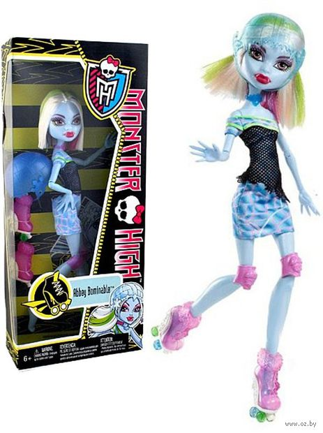 "Кукла ""Монстер Хай. Спорт. Эбби Боминейбл"" (арт. Y8349)"