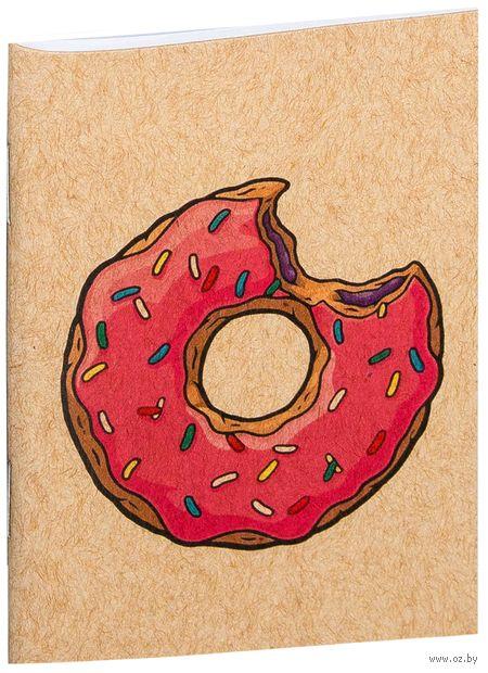 "Блокнот крафт ""Пончик. Симпсоны"" (А7; арт. 001)"