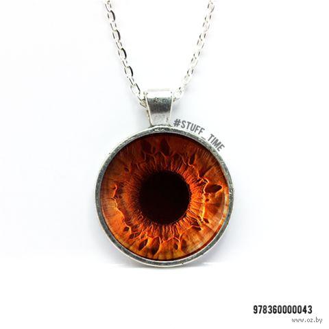 """Кулон """"Карий глаз"""" (арт. 043)"""