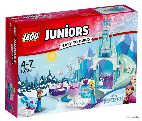 """LEGO Juniors """"Игровая площадка Эльзы и Анны"""" — фото, картинка"""
