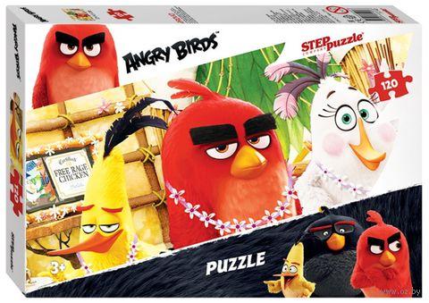 "Пазл ""Angry Birds"" (120 элементов) — фото, картинка"