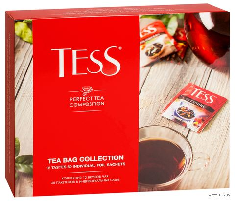 """Чай """"Tess. Коллекция"""" (60 пакетиков; ассорти) — фото, картинка"""