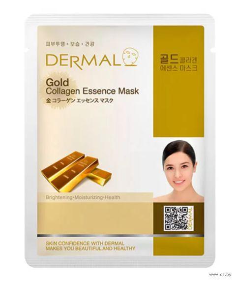 """Тканевая маска для лица """"Gold Collagen"""" (23 г) — фото, картинка"""