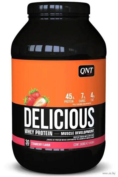 """Протеин """"Delicious Whey"""" (908 г; клубника) — фото, картинка"""