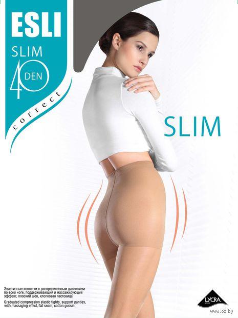 "Колготки женские ""Esli. Slim 40"" — фото, картинка"
