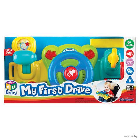 """Развивающая игрушка """"Мое первое вождение"""" (со световыми эффектами)"""