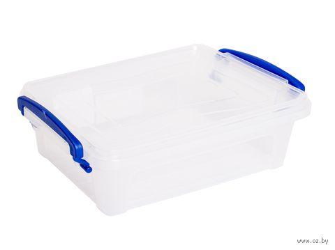 Ящик для хранения с крышкой (1,25 л) — фото, картинка