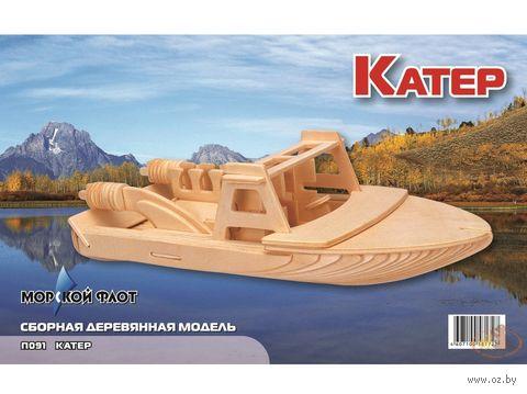 """Сборная деревянная модель """"Катер"""" — фото, картинка"""