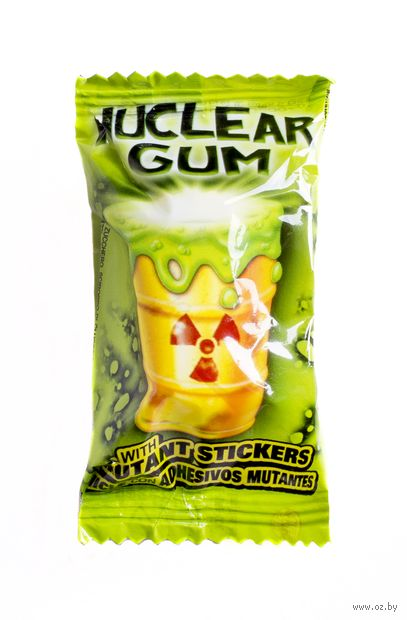 "Жевательная резинка ""Nuclear Gum"" (14 г) — фото, картинка"