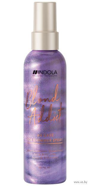 "Спрей для волос ""Blond Addict. Care Ice Shimmer Spray"" (150 мл) — фото, картинка"