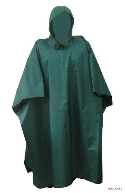 Накидка от дождя (темно-зеленая)