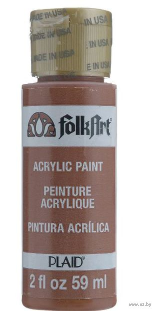 "Краска акриловая ""FolkArt. Acrylic Paint"" (светло-красная окись, 59 мл; арт. PLD-00914)"
