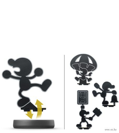Фигурка amiibo - Г-н Game & Watch (Smash)