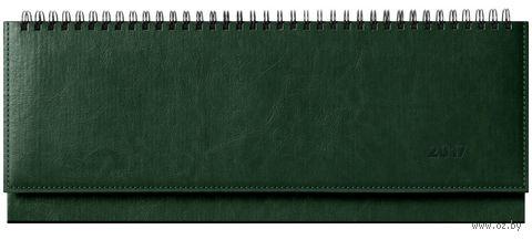 """Еженедельник-планинг датированный """"Sarif"""", 2017 (64 листа; зеленый)"""