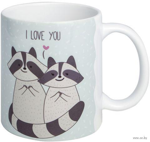 "Кружка ""Raccoon love"" (art. 20)"