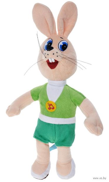 """Мягкая музыкальная игрушка """"Ну, погоди! Заяц"""" (25 см) — фото, картинка"""