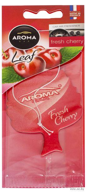 """Ароматизатор подвесной """"Leaf"""" (cherry) — фото, картинка"""