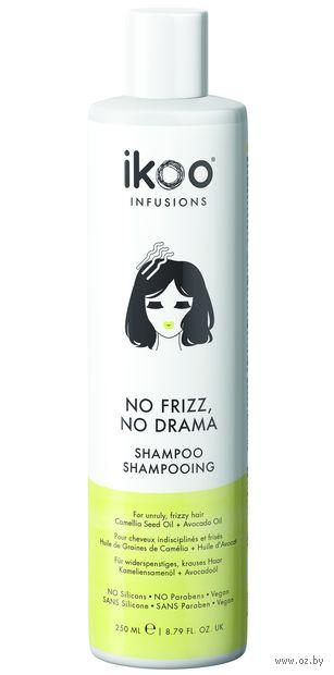 "Шампунь для волос ""Против пушистости. No Frizz, No Drama Shampoo"" (250 мл) — фото, картинка"