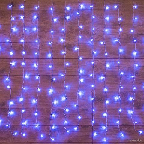 """Гирлянда """"Светодиодный дождь"""" (96 лампочек; арт. 235-023) — фото, картинка"""