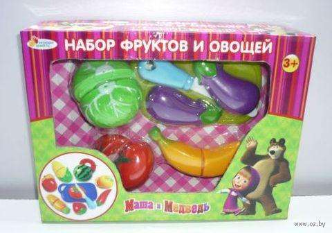 """Игровой набор """"Маша и Медведь. Овощи и фрукты"""" (6 шт; арт. B847981-R)"""