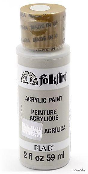 """Краска акриловая """"FolkArt. Acrylic Paint"""" (светло-серый, 59 мл; арт. PLD-00424)"""