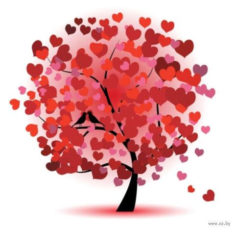 """Алмазная вышивка-мозаика """"Дерево любви"""""""