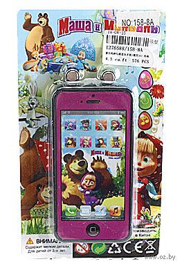 """Музыкальная игрушка """"Телефон. Маша и Медведь"""" (арт. 158-8A)"""
